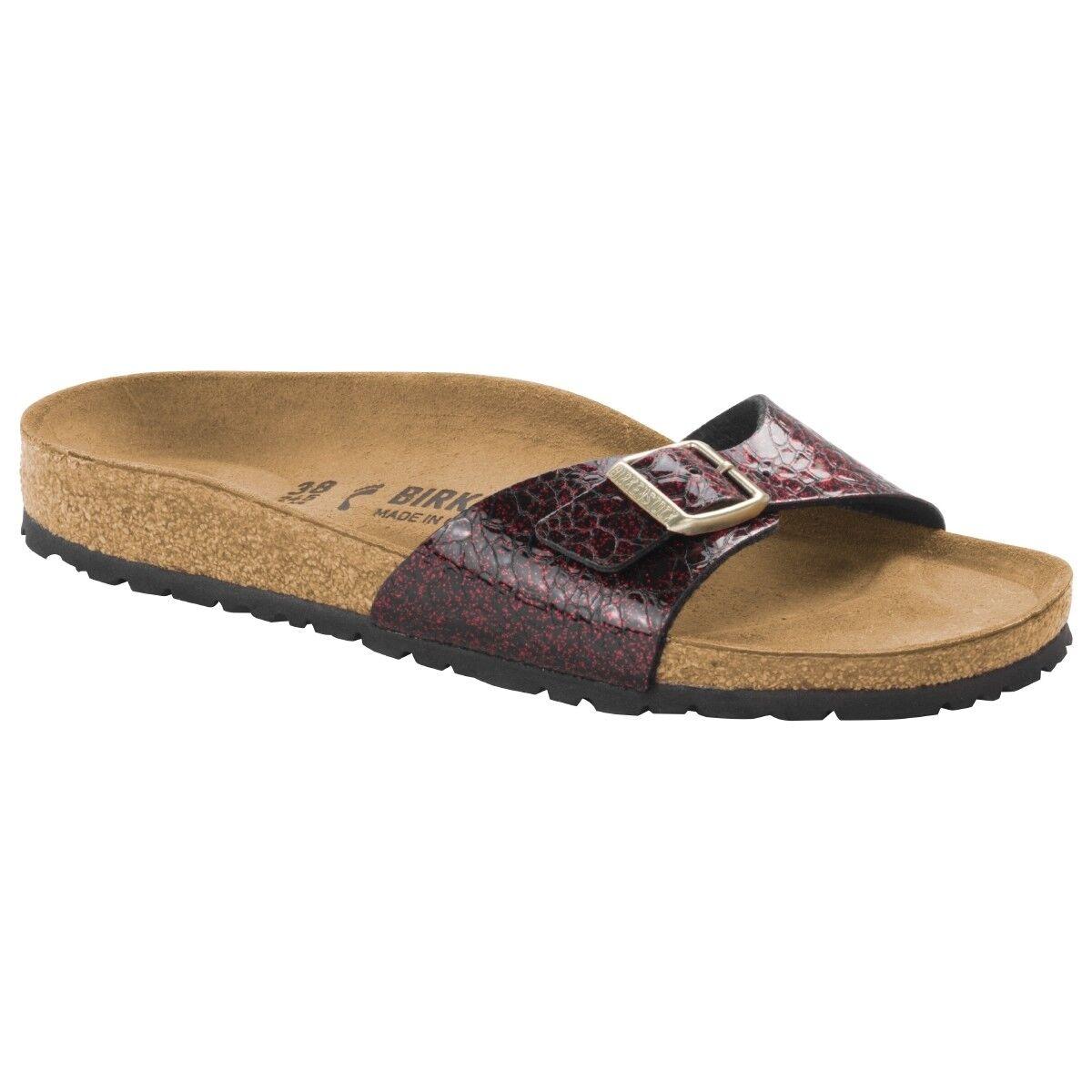 Birkenstock Madrid Birko-Flor Schuhe 1006615 Sandale Pantolette Weite schmal 1006615 Schuhe b51a76