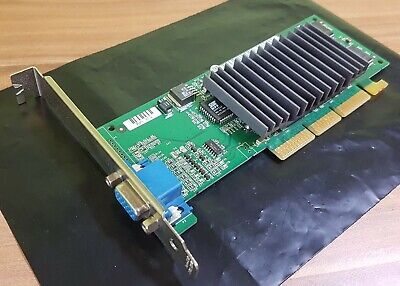 Dell 16mb Scheda Grafica Agp Nvidia Riva Tnt2 034mcw 34mcw Passivo Gek. Vintage!- Per Migliorare La Circolazione Sanguigna