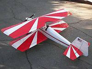 Scale ace r c 4 120 bipe biplane plans templates and instructions