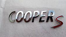Mini Cooper S 02-16 Rear liftgate Emblem 51142755618