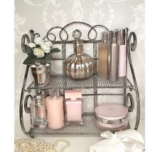 French Shabby Chic Mounted Ornament Shelf Holder Vintage Retro Bathroom Stand