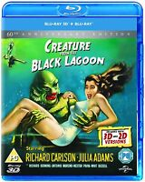 Creature From The Black Lagoon 3d + 2d Blu-ray Brand Free Shipping