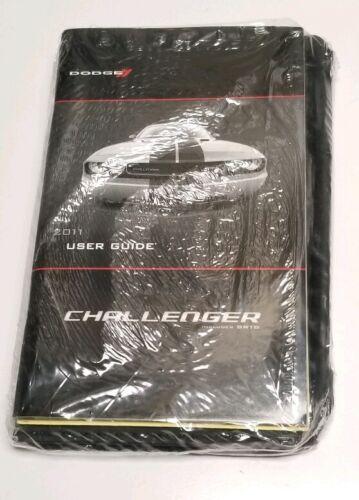 2011 DODGE CHALLENGER OWNERS MANUAL R/T SRT8 SE SXT COUPE V8 5.7L ...