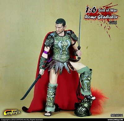 CMTOYS H011 Rome Gladiators Warlord Edition Gold w/ Head Set 1/6 (NO BODY & BUST