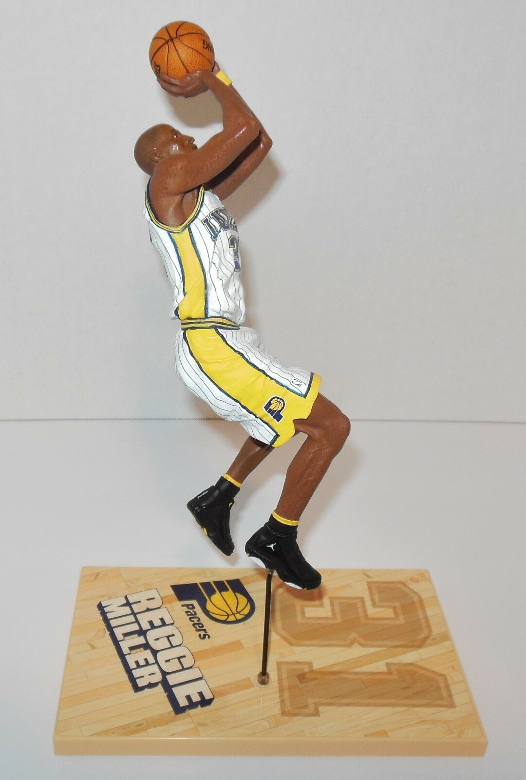 Mcfarlane   Reggie Miller Indiana Indiana Indiana Pacers Basketball - - Loose Figure 590bdb