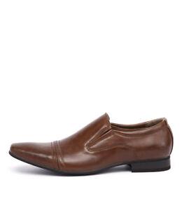 New-Uncut-Trengrove-Tan-Mens-Shoes-Dress-Shoes-Flat