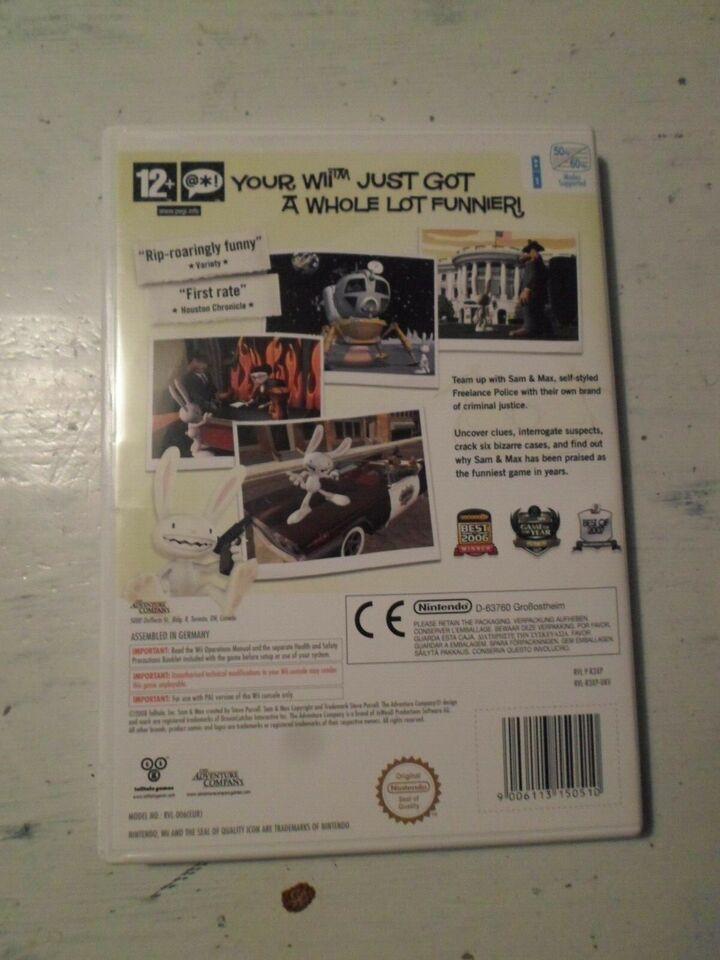 Sam & Max: Season 1 - Wii, Nintendo Wii