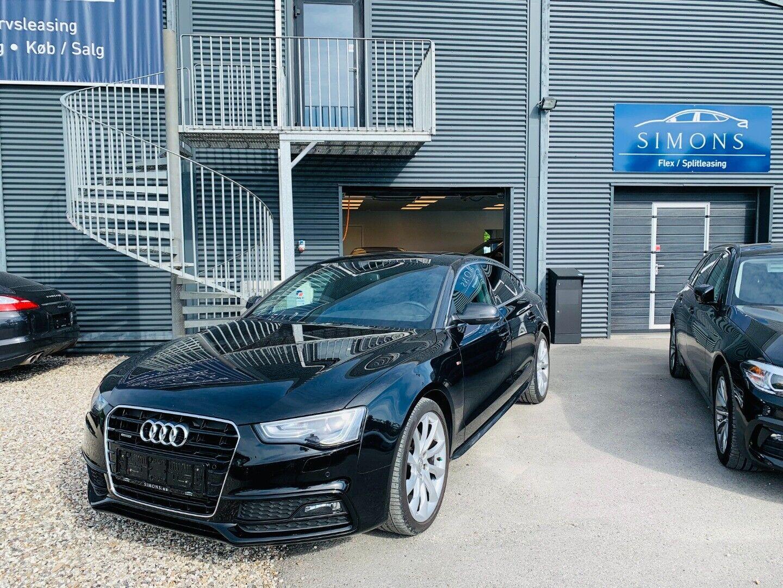 Audi A5 2,0 TFSi 225 SB quattro S-tr. 5d - 2.650 kr.