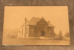 rppc-Postcard-Tenney-Memorial-Library