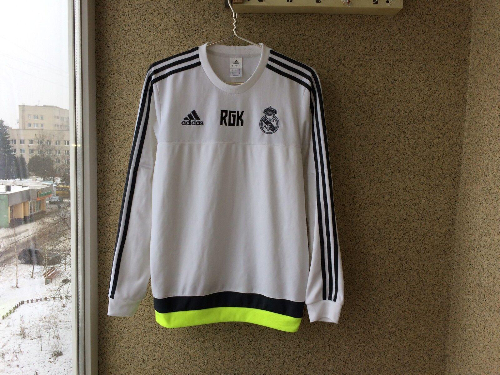 Chaqueta de fútbol Real Madrid 2015 2016 M Adidas España Fútbol Camiseta