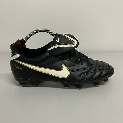Montañas climáticas Lobo con piel de cordero Centralizar  Nike TIEMPO NATURAL III FG Leather Football Boots | eBay