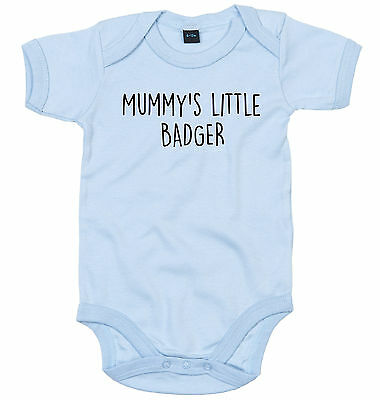 BOXER BODY SUIT PERSONALISED MUMMY/'S LITTLE BABY GROW NEWBORN GIFT