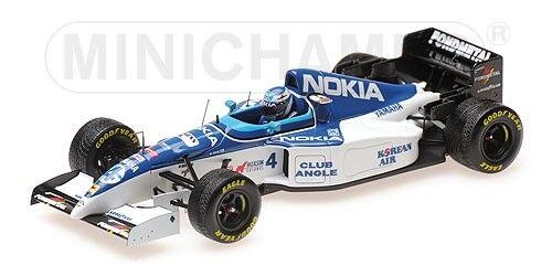 Minichamps F1 Tyrrell Yamaha 023 Mika Salo 1 43 Belgian GP 1995