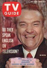 1960 TV Guide February 20 - Red Skelton; Bob Denver, Dobie Gillis and Beatniks