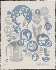RYAN McGINNESS 'Pathetic Lucky Charms...', 2004 SIGNED Ltd. Ed. Silkscreen Print