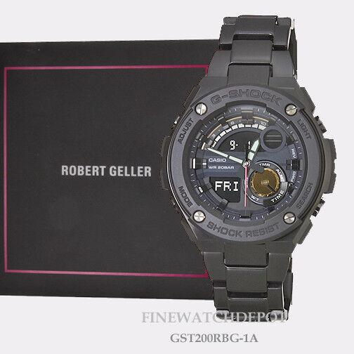 53189482bf4 G-SHOCK G-steel 2nd Generation Robert Geller Edition Gst200rbg-1a for sale  online