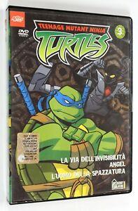 DVD-TEENAGE-MUTANT-NINJA-TURTLES-VOL-3-2003-Animazione-TMNT