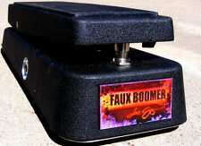 FAUX BOOMER WAH~custom, handwire, mid control version, special artwork