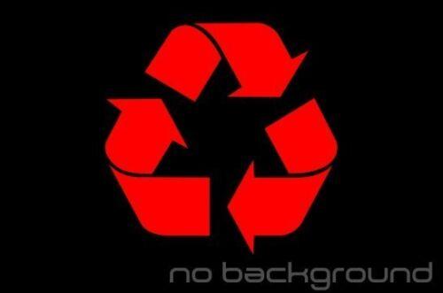 Reuse Renew Symbol Trash Work Bin Can Home Window Recycle Sticker Vinyl Decal