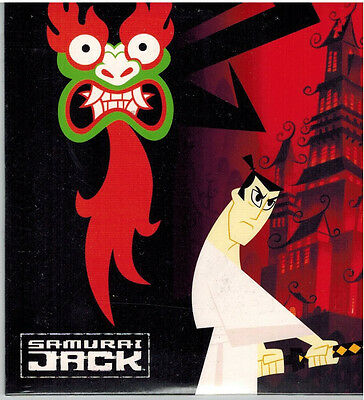 Samurai Jack Promotional Promo Cd Compact Disc Cartoon Network New Sealed Ebay