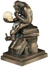 European Replica Darwin's Theory of Evolution Monkey The Thinker Ape Statue