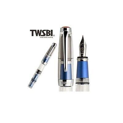 〝SEALED〞TWSBI DIAMOND MINI AL BLUE  SE Fountain Pen