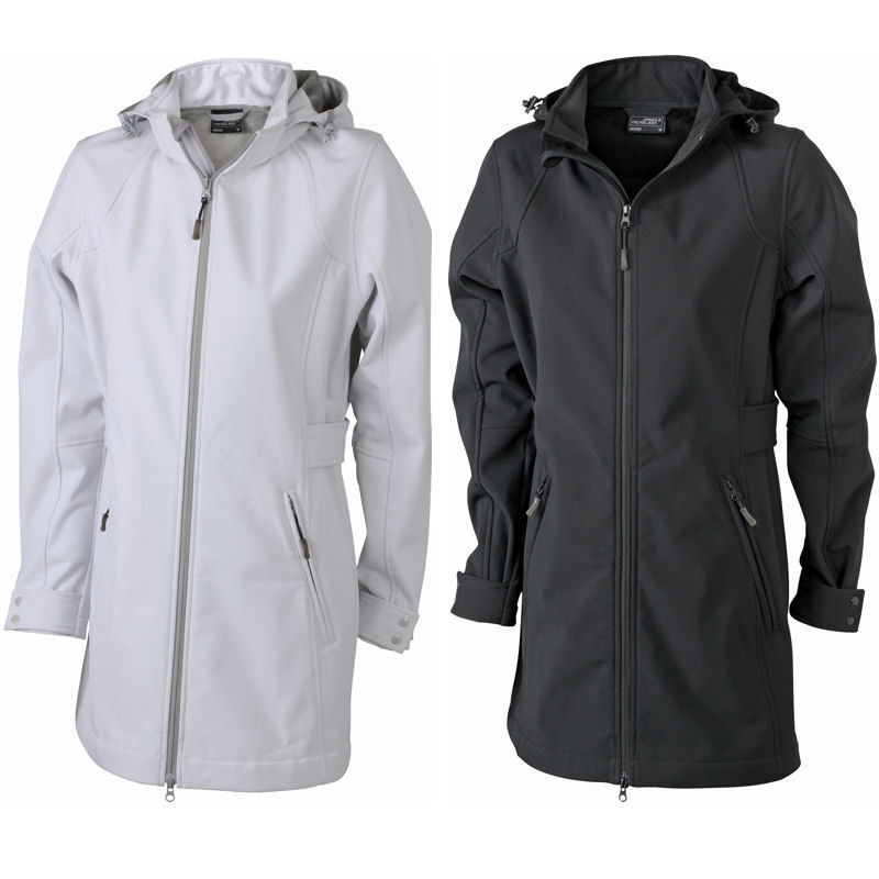 James & Nicholson Damen Softshell Outdoor Jacke Winter Mantel Parka Shirt