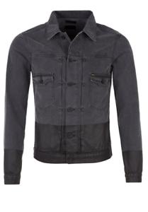 Tigre 230 giacca jeans Due Svezia Stunning Xl di Bnwt Rrp di £ nera p1prwOZqf