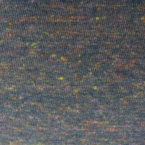 1.5m wide by the 0.5m Melange Speckled Grey Cotton Elastane Jersey Fabric