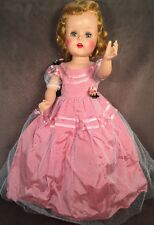 "Beautiful Vintage 21"" Hard Plastic Walker Sweet Sue Doll Sleep Eyes All Original"