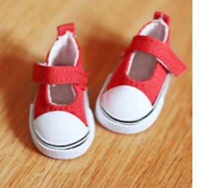 2019 Moda Bambole Scarpe Da Ginnastica Sneakers Tela Lino Scarpe Rosso 5 Cm Di Lunghezza, 162r...-mostra Il Titolo Originale