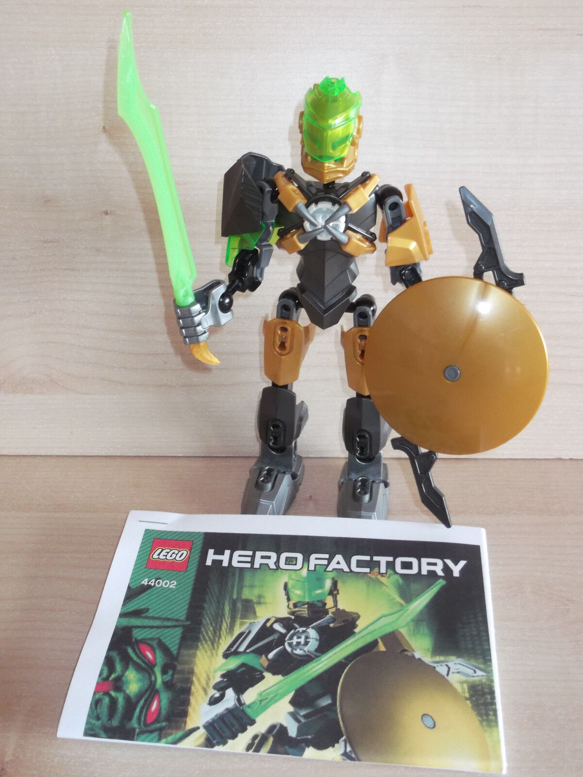 Lego Hero Factory 44002 Rocka 100 Complete With Instructions Ebay
