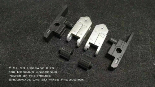 Shockwave Lab SL-58//SL-59 Upgrade kits for Rodimus Prime//Rodimus Unicronus