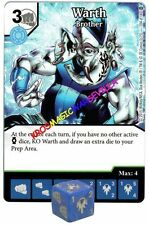 104 WARTH Brother - Uncommon - WAR OF LIGHT - DC Dice Masters