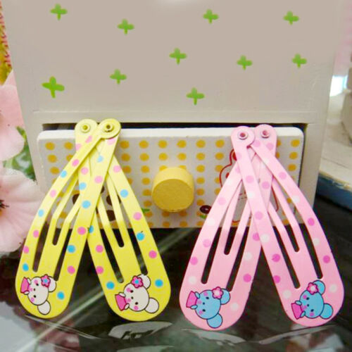 6pcs Girl Baby Clip hairpin Piece DIY Hairpin Accessories For Kids Hair Access