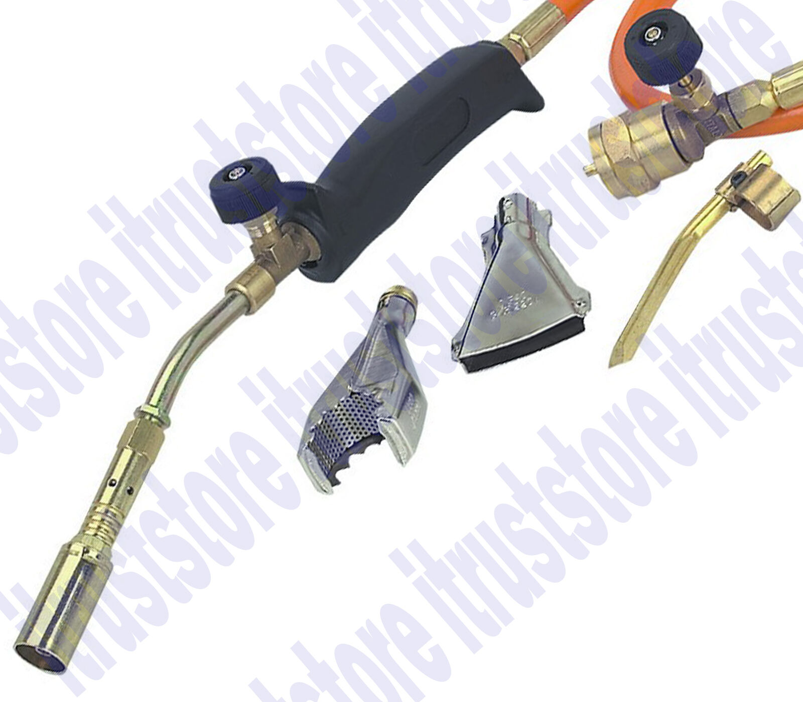 Small Mini Brazing Propane Gas Soldering Hand Torch Solder Braze Heat Heating