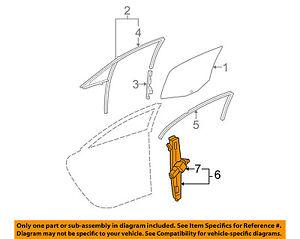 image is loading pontiac-gm-oem-05-10-g6-rear-door-