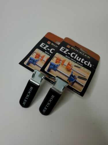 Lot of 2 ROCKLER EZ-CLUTCH QUICK RELEASE SYSTEM clamp pipe clamp ex clutch new