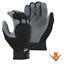 MAJESTIC-2140-Mechanics-Deerskin-Split-Leather-Work-Gloves-Velcro-Size-M-2X miniature 1