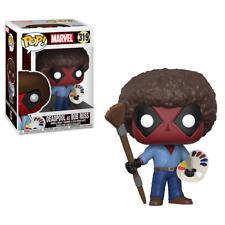 Funko LLC 30865 Pop Marvel Deadpool Playtime-bob Ross