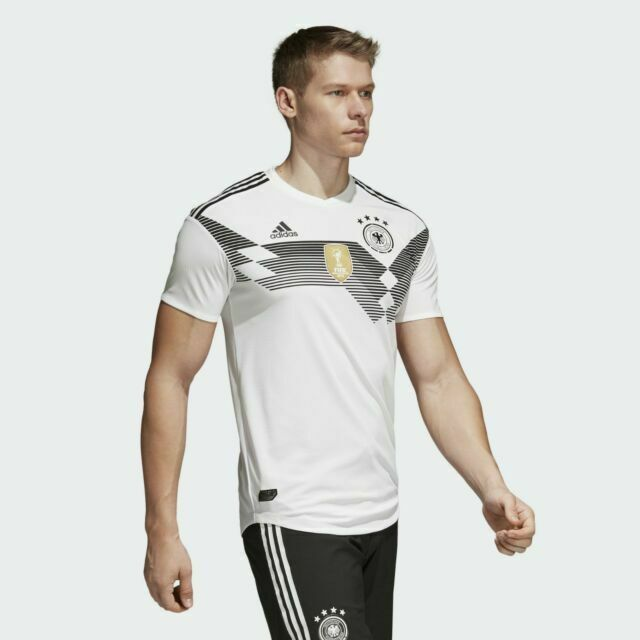 adidas Germany 2018/19 Home Men's Soccer Jersey Br7313 Size XL for ...