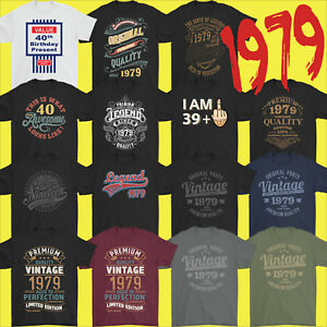 f906550f Mens Funny 40th Milestone Birthday T-Shirt 40 Year Old Gift Idea ...