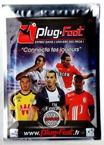 POCHETTE PLUG-FOOT SAISON 2013//2014 ¤ avec 5 JOUEURS FOOTBALL CONNECTE  ¤