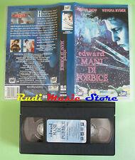 VHS film EDWARD MANI DI FORBICE 1995 Johnny Depp Winona Ryder FOX (F24) no dvd