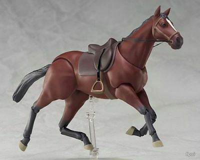 Figma 246a Brown Horse Action Model Figure Collectibles Toy New No Box 16cm Hot