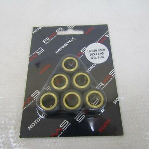 Kit-rulli-variatore-RMS-Roller-weights-16X13-6-2g