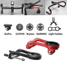 Bike Stem Mount Holder Handlebar Extension For Garmin Edge Computer GoPro GPS