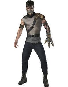 image is loading wasteland warrior mens adult steampunk soldier halloween costume