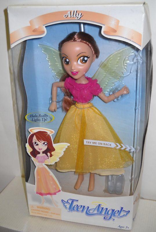 Nunca quitado de la Caja Toy Quest Teen Angel aliado Muñeca