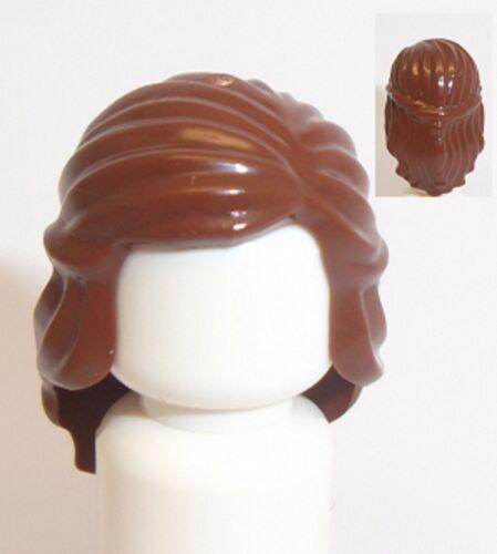 Lego Princesse Cheveux femelle x 1 brun rouge pour minifigure